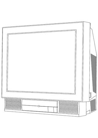 Vector TV Stock Vector - 13439459