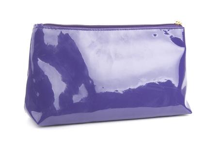 purple bag for cosmetics photo