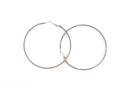 ear rings: Large ear rings