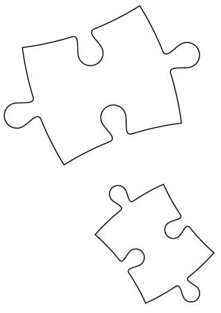 Vector Puzzles Stock Vector - 13546690