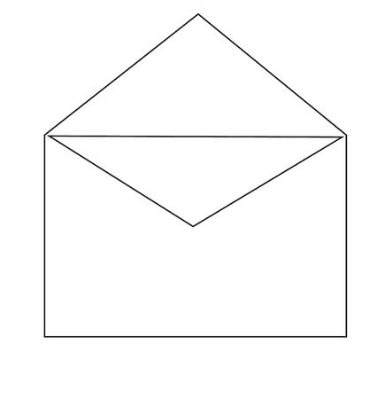 Open envelope Stock Vector - 13622348