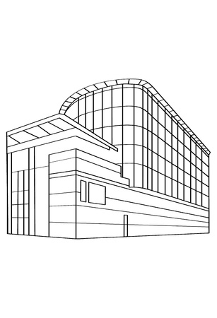 Contour Building Illustration