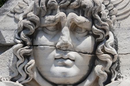 Medusa Gorgon in Apollo Temple photo