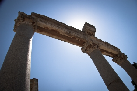 hadrian: Old Town of Ephesus  Turkey Stock Photo