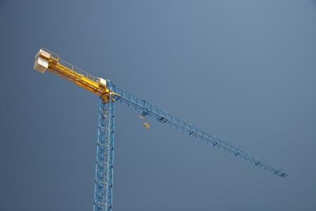 Huge Building Crane at work photo