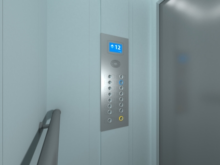 Modern Elevator Interior and Exterior photo