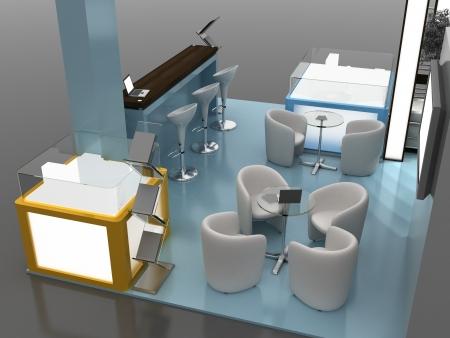 Exhibition Stand Interior Exterior Sample