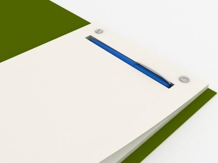 Notebook isolated Stock Photo - 15703504