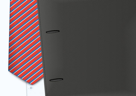 Vector shirt and tie illustration Vector