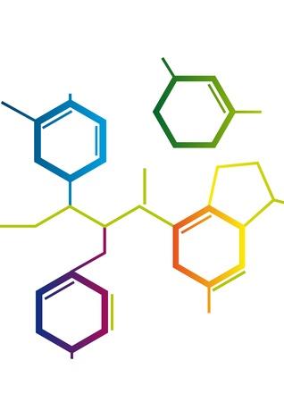 dificuldade: Ilustração da fórmula Chemical Abstract