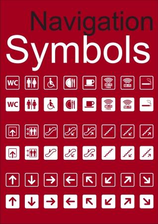 Navigation Symbols Set