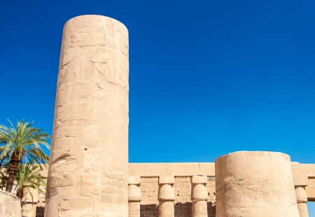 Temple of Karnak, Egypt - Exterior elements Stock Photo - 18820073