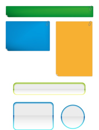 Stickies and bars for any case Stock Vector - 19262733