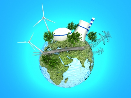 energy sources: Energy Sources on the Green Earth