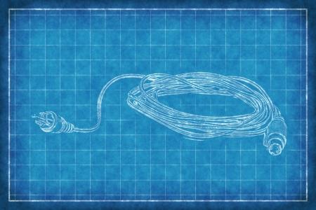 technics: Cable with connectors - Blue Print