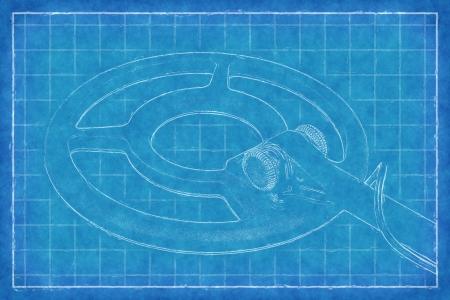 technics: Metal detector - Blue Print