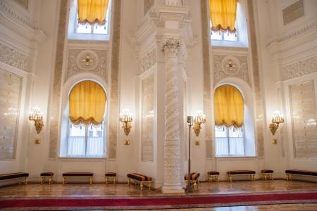 Georgievsky Hall of the Kremlin Palace, Moscow Stock Photo - 25542330