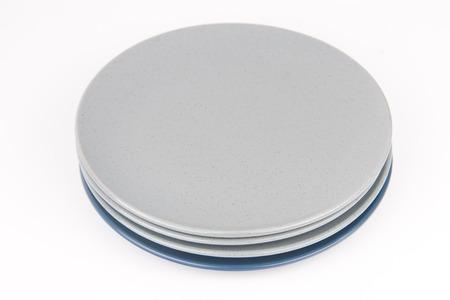 Porcelain isolated on white background photo