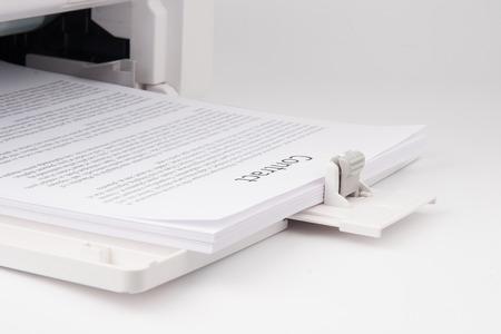 Modern Laserjet printer for home and office 版權商用圖片