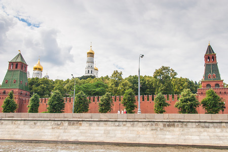 Moscow Kremlin Building in summer time - Russia photo