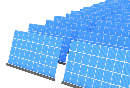 panels: Solar panels Stock Photo