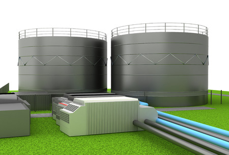 fuel storage tank: Oil tanks
