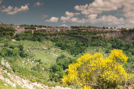 lazio: Nature Summer Landscape of Lazio Region, Italy