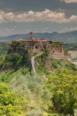tuscia: Comune of Bagnoregio near Viterbo, Lazio - Italy Stock Photo