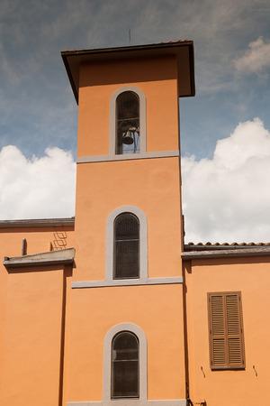 urbanistic: City of Acquapendente near Viterbo, Lazio - Italy Stock Photo