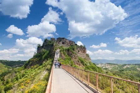 lazio: Comune of Bagnoregio near Viterbo, Lazio - Italy Stock Photo
