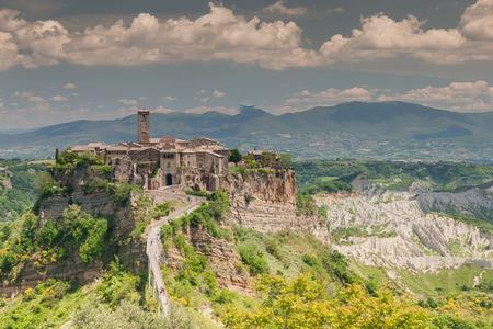 urbanistic: Comune of Bagnoregio near Viterbo, Lazio - Italy Stock Photo