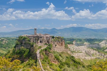 viterbo: Comune of Bagnoregio near Viterbo, Lazio - Italy Stock Photo