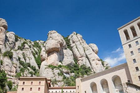 santa maria: Santa Maria de Montserrat Abbey, Monastery near Barcelona