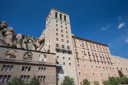 virgin of montserrat: Santa Maria de Montserrat Abbey, Monastery near Barcelona