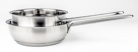 utensilios de cocina: Dos ollas freír metal. utensilios de cocina