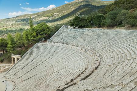 Epidaurus Theater In Greece