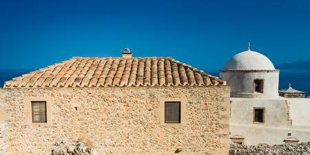 laconia: Monemvasia town in Laconia, Greece
