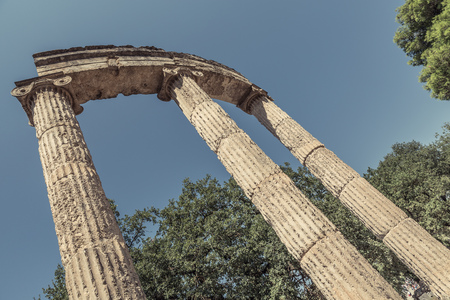 Ruin in Olympia - Sanctuary of ancient Greece
