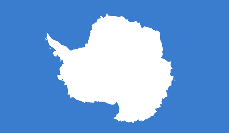 Vector Illustration of Antarctica Flag Çizim