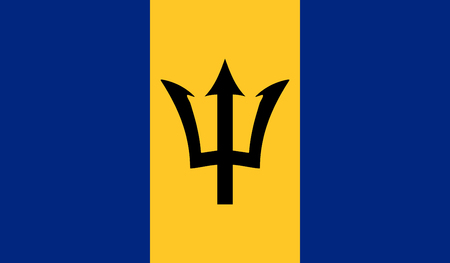 Barbados Flag Stock Vector - 115567808