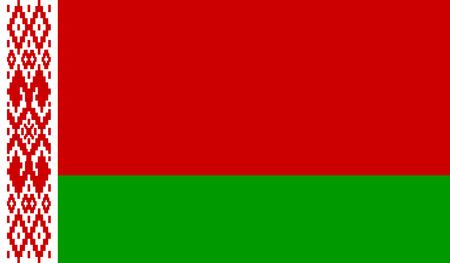Belarus Flag  イラスト・ベクター素材