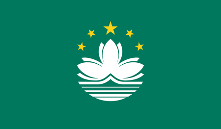 Macau Flag Illustration