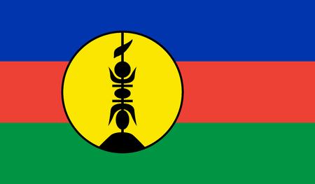 New Caledonia Standard-Bild - 115568318