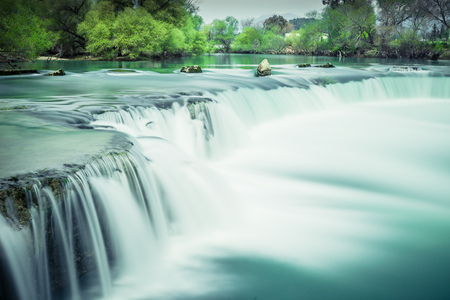 Waterfall near Manavgat in Turkey