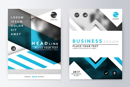 Blue annual report brochure business plan flyer design template business plan flyer design template business paper leaflet cover accmission Images