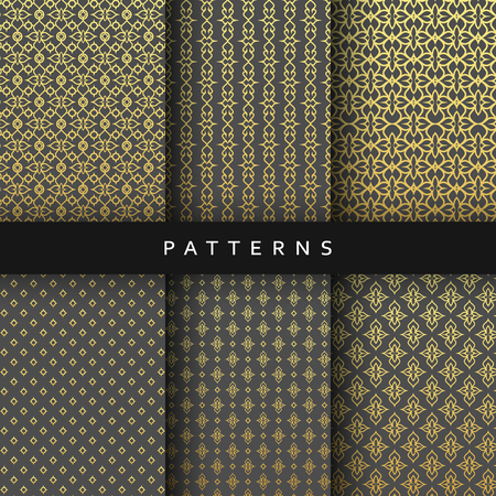 satiny cloth: Luxury design elements pattern abstract texture, backdrop, style. Elegant luxury pattern Illustration