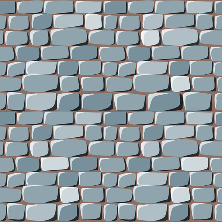 cobblestone: seamless texture of stone. Can use in game Illustration
