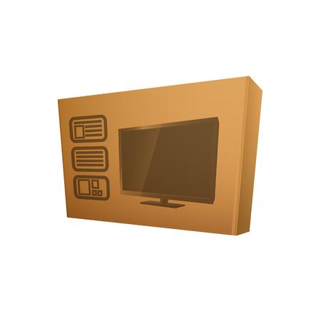 tv box. Vettoriali