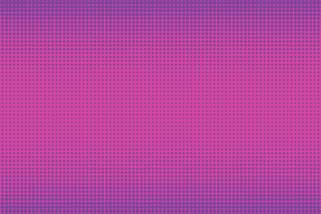 Old comic pink purpule background with halftone gradient in pop art retro style.