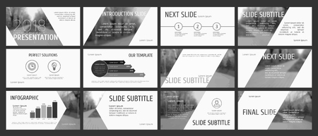 Original presentation templates design. This template is the best as a business presentation, corporate report, used in marketing and advertising, the annual report, flyer and banner.